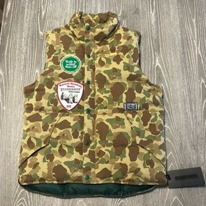 Marmot Mountain Works Camouflage puffy Vest